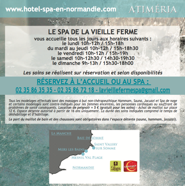 hotel spa en normandie